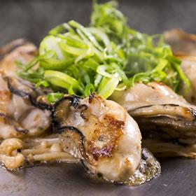 牡蠣(ポン酢 or バター)